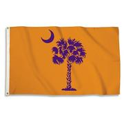Orange And Purple South Carolina State Flag