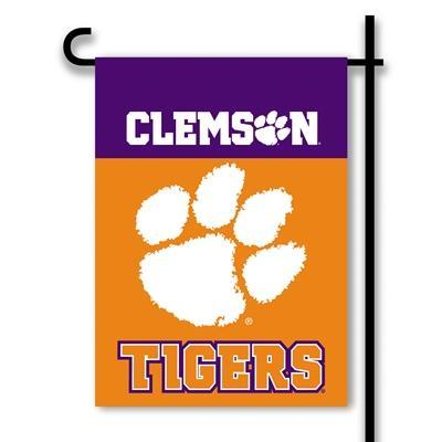 Clemson Garden Flag