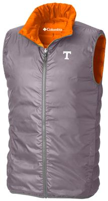 Tennessee Columbia Lake Reversible Full Zip Vest