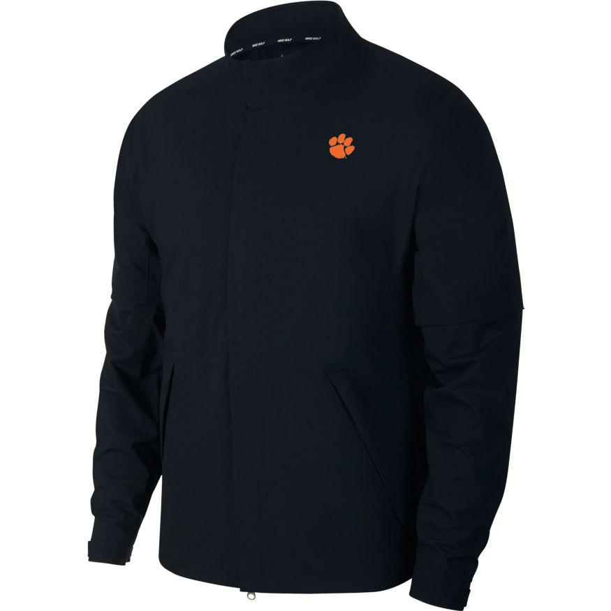 Clemson Nike Golf Hypershield Convertible Jacket
