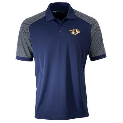 Nashville Predators Antigua Logo Engage Polo