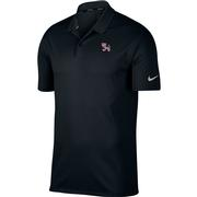 Clemson Nike Golf Dry Standing Tiger Victory Solid Polo