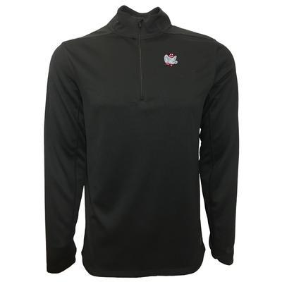 Alabama Nike Golf Retro Elephant 1/2 Zip Golf Pullover BLK