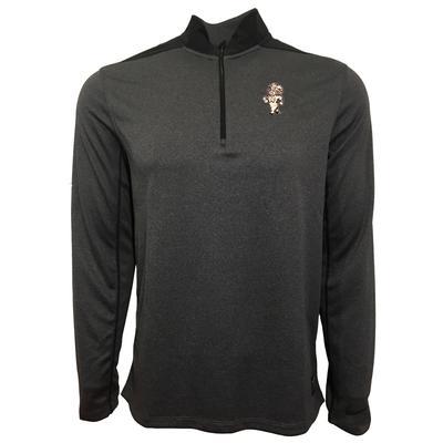 UNC Nike Golf Strutting Rameses 1/2 Zip Golf Pullover