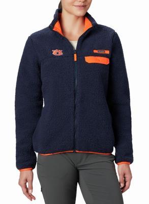 Auburn Columbia Women's Mountainside Heavyweight Fleece
