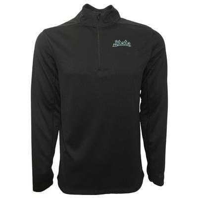 Michigan State Nike Golf Script State 1/2 Zip Golf Pullover