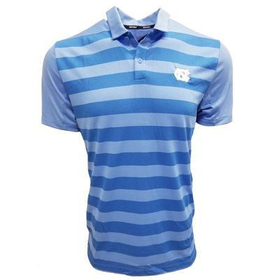 UNC Nike Golf Dry Striped Polo