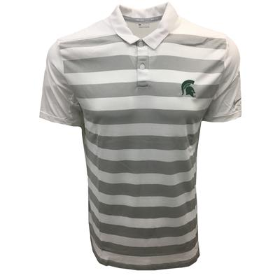 Michigan State Nike Golf Dry Striped Polo