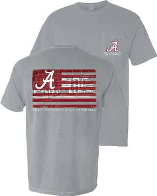 Alabama Flag Over Stadium Tee