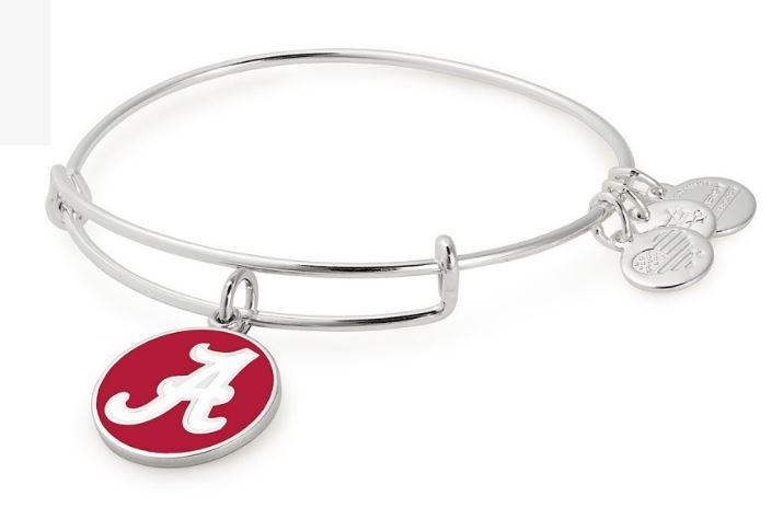 Alabama Alex & Ani Team Logo Charm Bangle