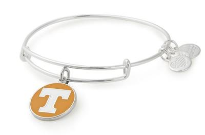 Tennessee Alex & Ani Team Logo Charm Bangle