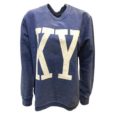 Kentucky Pressbox Comfy Corded Arch Sweater