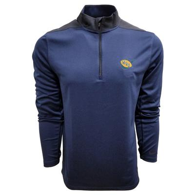 West Virginia Nike Golf Vault Logo 1/2 Zip Golf Pullover