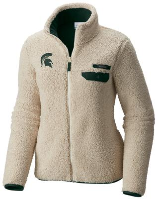 Michigan State Columbia Women's Mountain Side Fleece Jacket