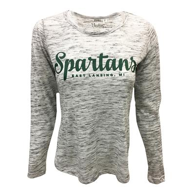 Michigan State Pressbox Women's Elliot Space Dyed Tee