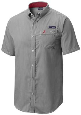 Alabama Columbia Super Harborside Short Sleeve Shirt