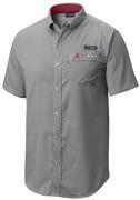 Alabama Columbia Super Harborside Short Sleeve Shirt