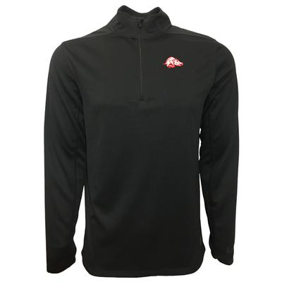 Arkansas Nike Golf Retro Running Hog 1/2 Zip Golf Pullover