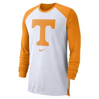 Tennessee Nike Breathe Elite Long Sleeve Shooter Tee