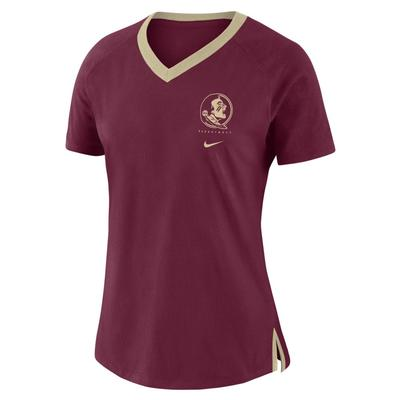Florida State Nike Women's Triblend Basketball Fan Top