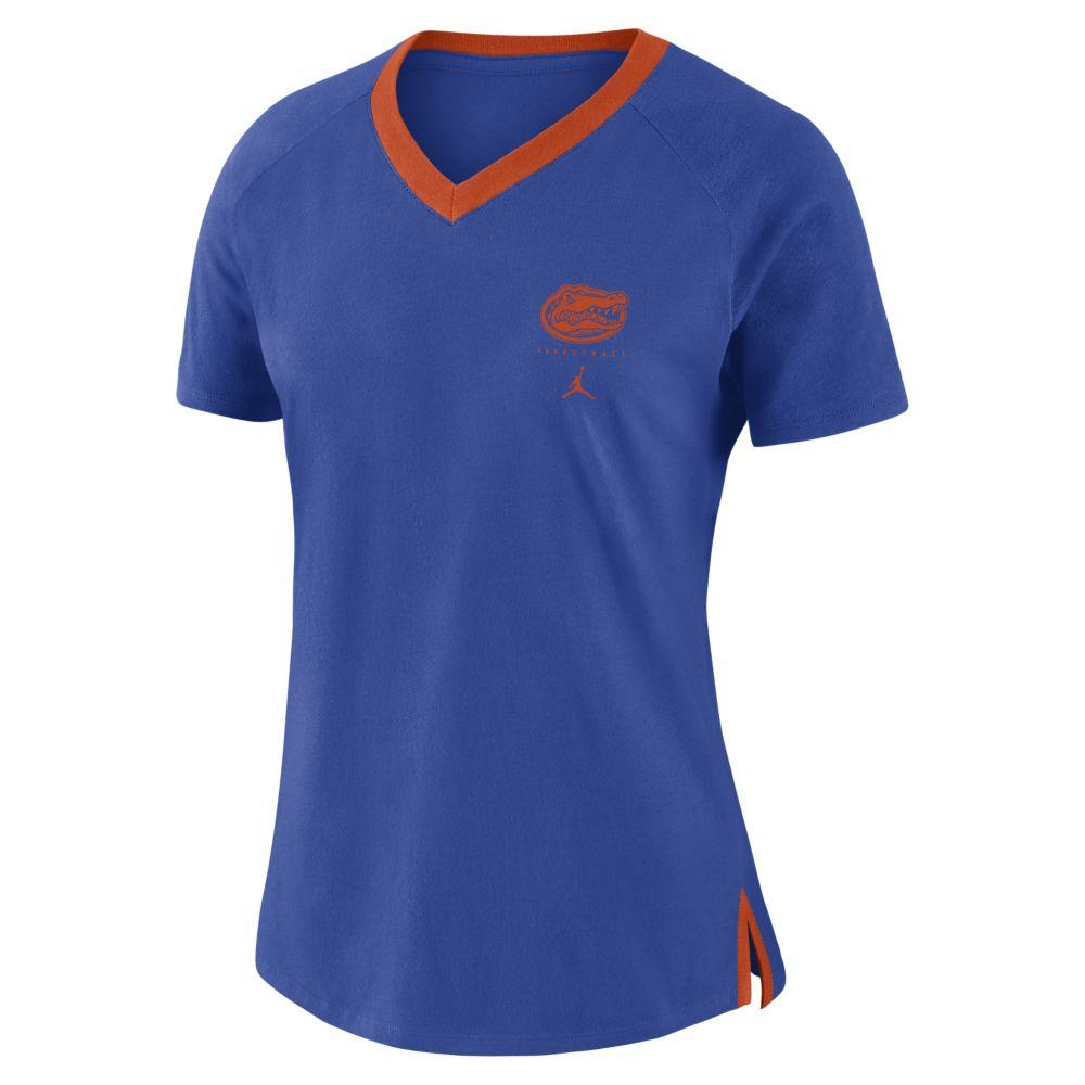 Florida Jordan Brand Women's Triblend Basketball Fan Top