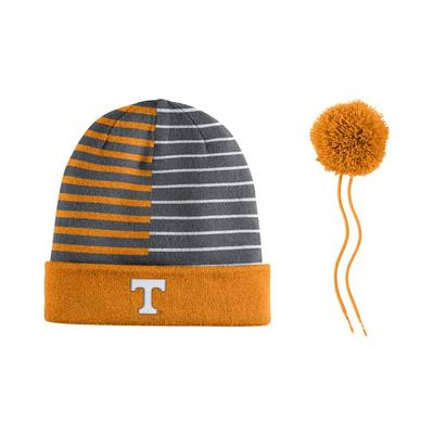 Tennessee Nike Reversible Striped Beanie