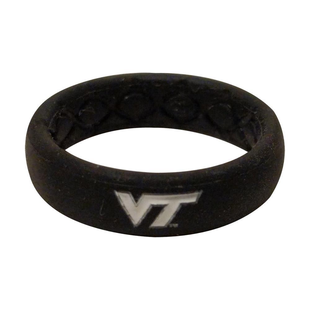 Virginia Tech Groove Ring (Thin)