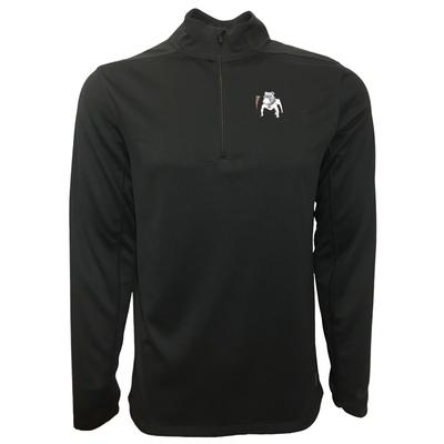 Georgia Nike Golf Vault Dawg 1/2 Zip Golf Pullover