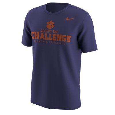 Clemson Nike 2018 Accept the Challenge Football Tee