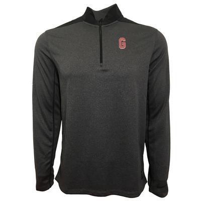 Georgia Nike Golf Vault G 1/2 Zip Golf Pullover THUNDER
