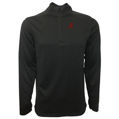 Alabama Nike Golf 1/2 Zip Golf Pullover BLACK