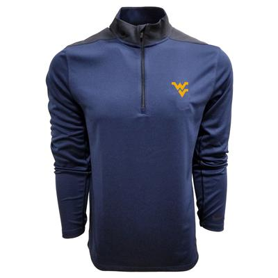 West Virginia Nike Golf 1/2 Zip Golf Pullover