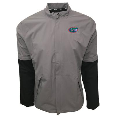 Florida Nike Golf HyperShield Convertible Jacket GUNSMOKE
