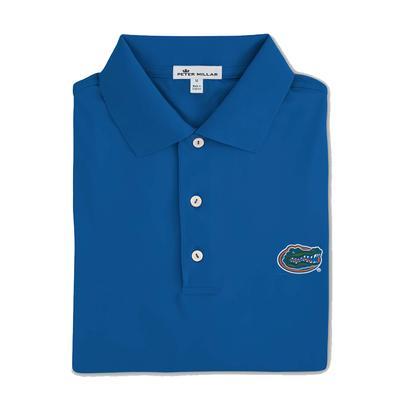 Florida Men's Peter Millar  Solid Stretch Jersey Sean Collar Polo