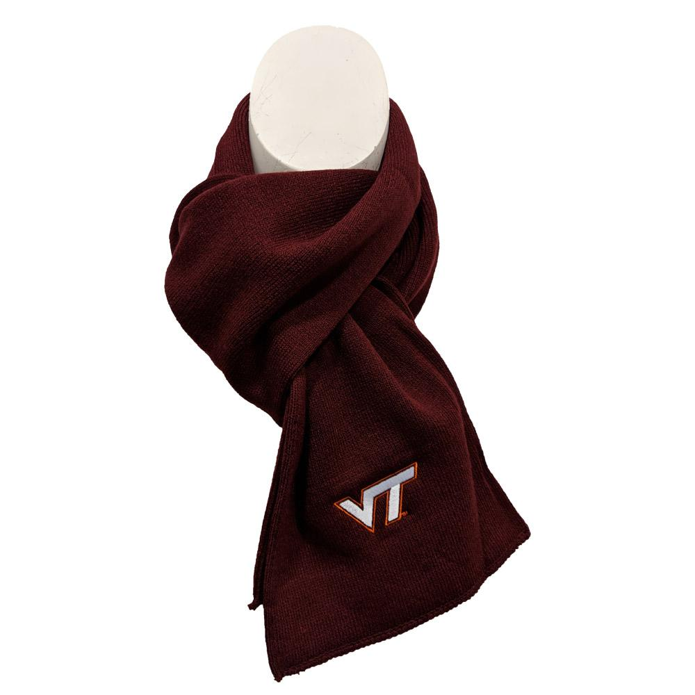 Virginia Tech Frosty Knit Scarf