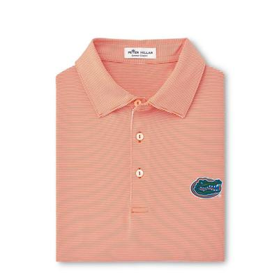 Florida Men's Peter Millar Jubilee Stripe Jersey Polo