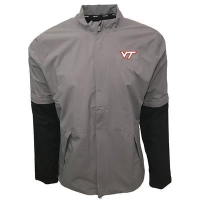 Virginia Tech Nike Golf HyperShield Convertible Jacket GUNSMOKE