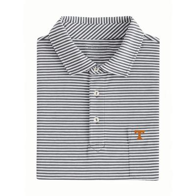 Tennessee Men's Peter Millar Seaside Stripe with Mini Logo on Pocket