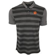 Clemson Nike Golf Dry Striped Polo