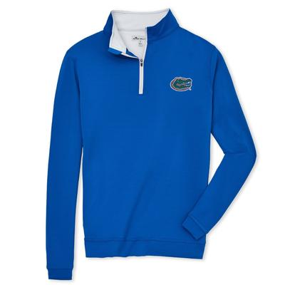 Florida Men's Peter Millar Perth Stretch 1/4 Zip Pullover