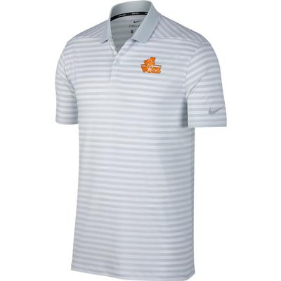 Tennessee Nike Golf Davy-Volstar Dry Victory Stripe Polo