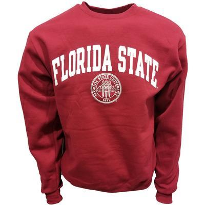 Florida State College Seal Crew Sweatshirt