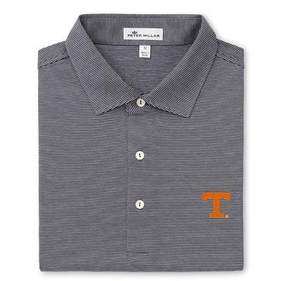 Tennessee Men's Peter Millar Scholar Stripe Polo