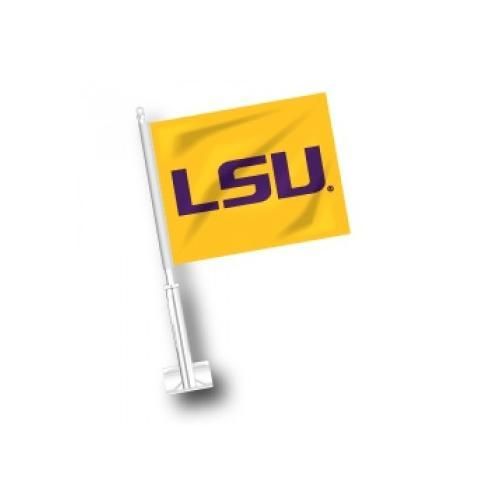 Lsu Car Flag