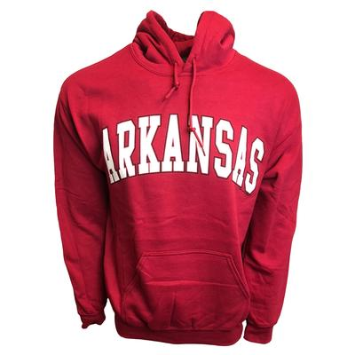 Arkansas Arch Logo Hooded Sweatshirt