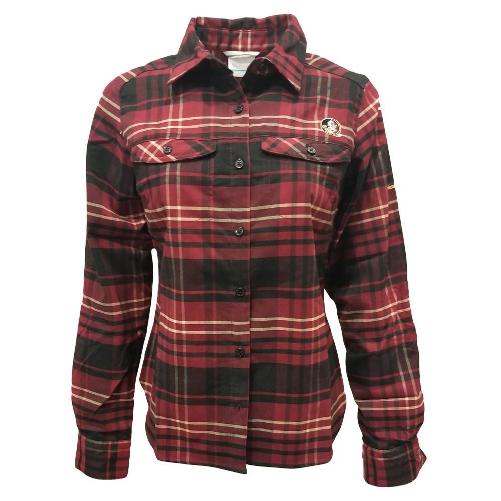 Florida State Columbia Women's Silver Ridge Flannel Shirt
