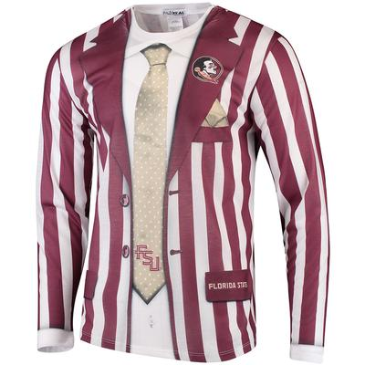 Florida State Faux Suit Long Sleeve Tee