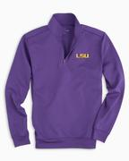 Lsu Southern Tide Gameday 1/4 Zip Pullover