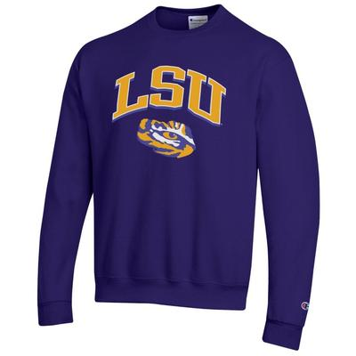 LSU Champion Arch Logo Sweatshirt