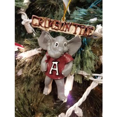 Alabama Crimson Tide Mascot Ornament
